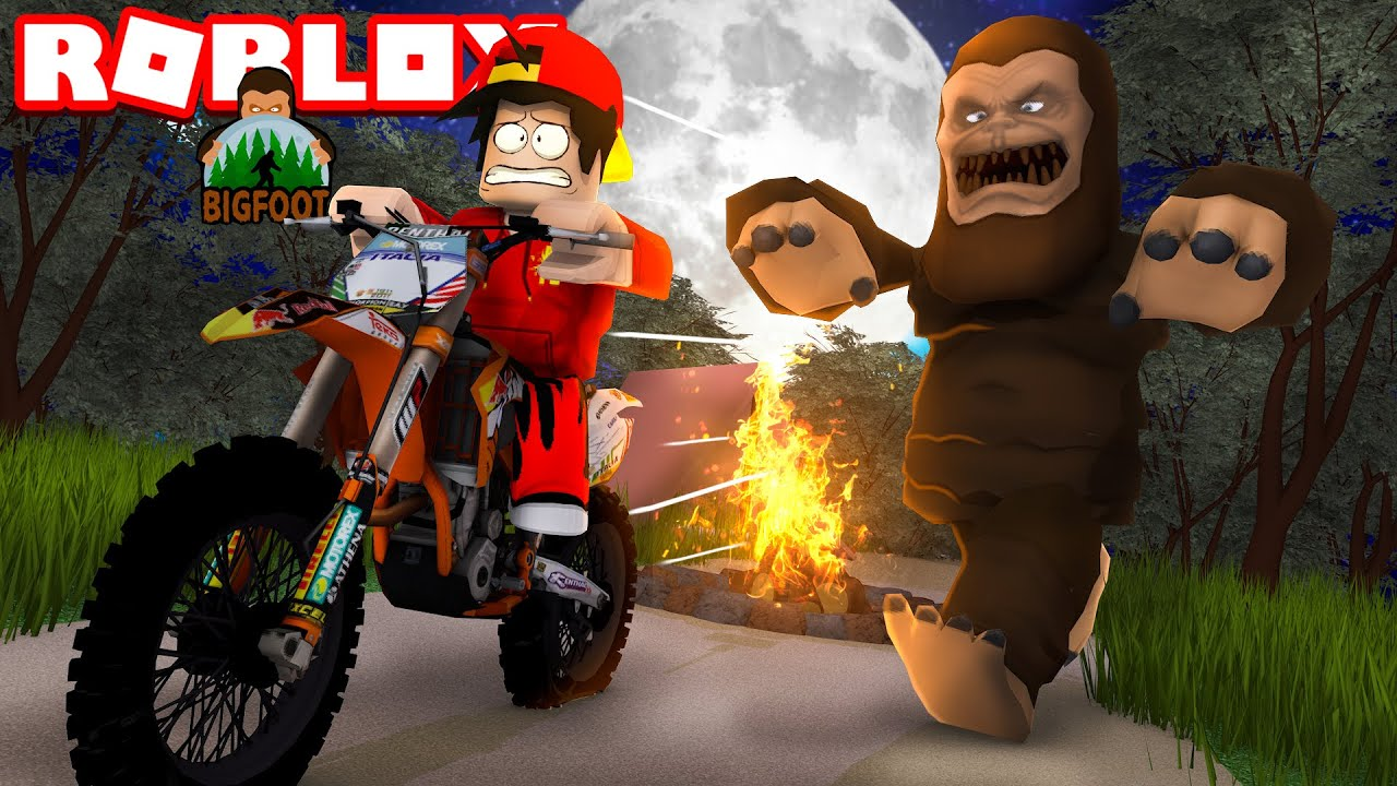 Roblox Bigfoot Is On The Loose Youtube