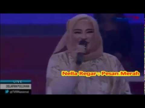 Nella Regar -- PESAN MERAH  pOP kENANGAN 1980AN - Show 18 September 2016  -1,065