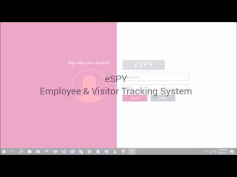 eSPY - Employee & Visitor Tracking System