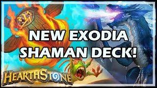 NEW EXODIA SHAMAN DECK! - Rastakhan's Rumble Hearthstone