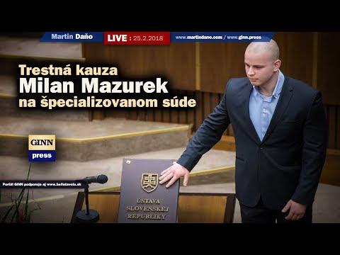 Live: Trestná kauza Milan Mazurek a 6 mil. židov a iné... #30.31