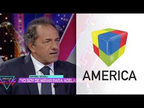 Daniel Scioli, a fondo con Fantino después de las elecciones