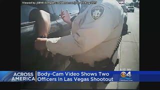 Body-Cam Video Shows 2 Officers Involved In Las Vegas Shootout thumbnail