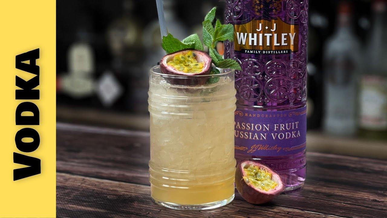 Easy Vodka Cocktails Recipes - TASTY Passion Fruit Vodka Cocktail