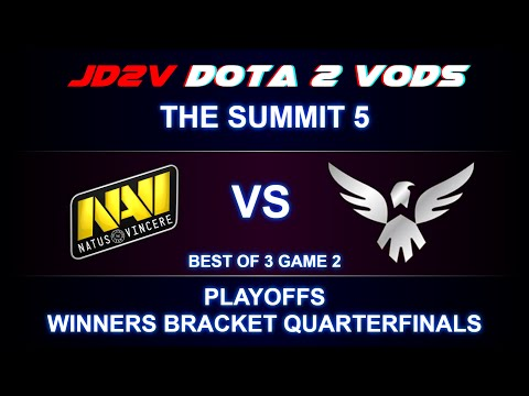 NaVi vs Wings The Summit 5 Playoffs WB Quarterfinals Game 2 VOD