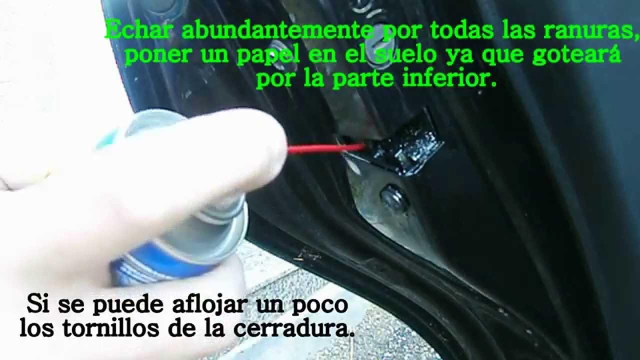 solucion al problema cerradura del coche que no abre - YouTube