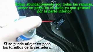 solucion al problema cerradura del coche que no abre