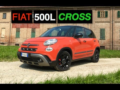 2017 fiat 500l cross review inside lane youtube. Black Bedroom Furniture Sets. Home Design Ideas