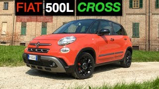 homepage tile video photo for 2017 Fiat 500L Cross Review - Inside Lane