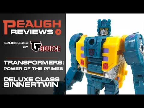 Video Review: Transformers: Power of the Primes - Deluxe Class SINNERTWIN