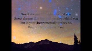 Dean Martin-Dream a Little Dream of Me (with Lyrics)