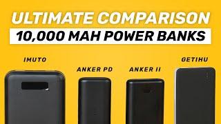 TESTED 10000mAh USB Power Bank Comparison 2019