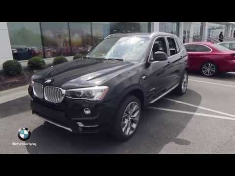 2016 bmw x3 xdrive28i bmw of silver spring youtube. Black Bedroom Furniture Sets. Home Design Ideas