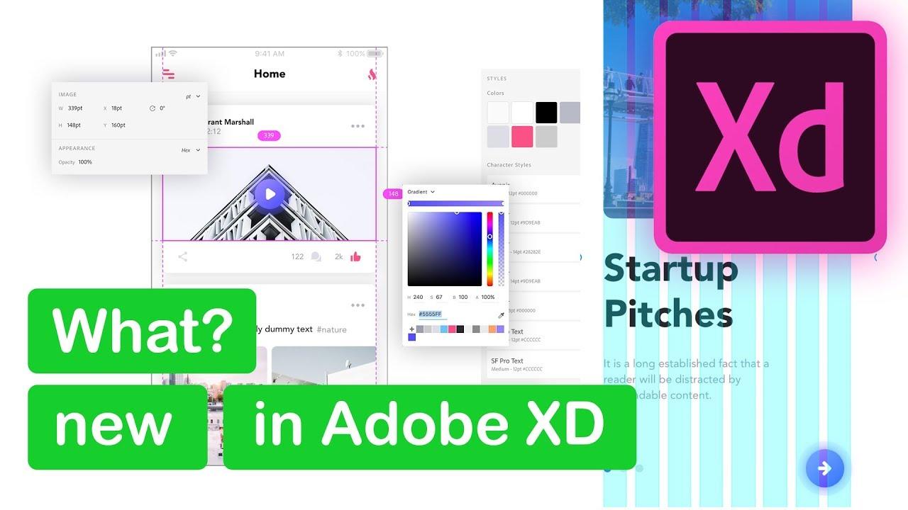 Adobe XD | NHLuong | Adobe XD có gì mới trong update ngày 13/11/2017?