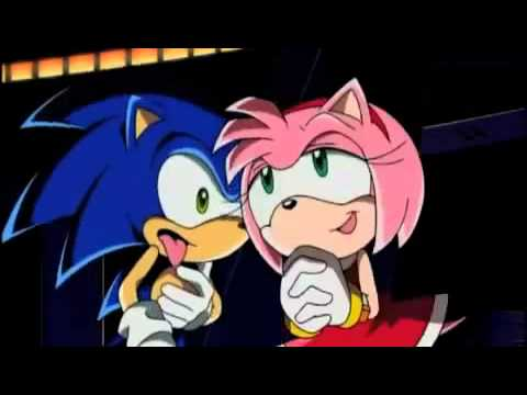 Amy rose hugging sonic in sonic x youtube - Amy rose sonic x ...