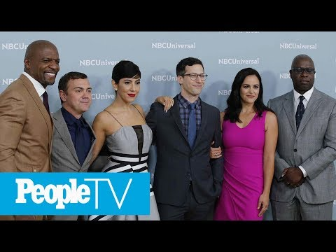 'Brooklyn NineNine's' Melissa Fumero & Stephanie Beatriz React To NBC Saving   PeopleTV