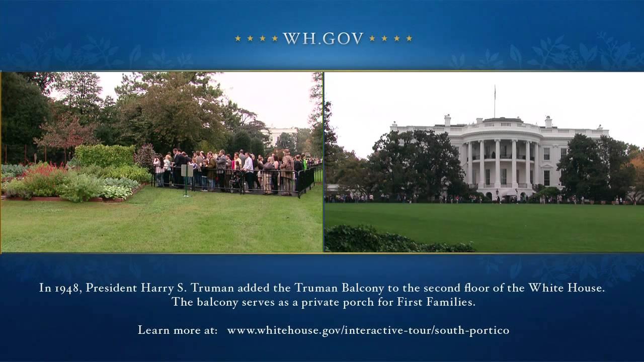 White House Fall Garden Tour - YouTube