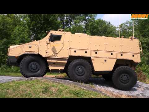 TITUS Tatra factory Nexter 6x6 armored personnel carrier test drive live demonstration Kopřivnice