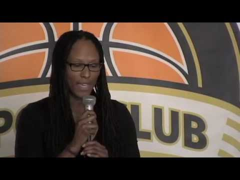 Chamique Holdsclaw talks about her time in the WNBA