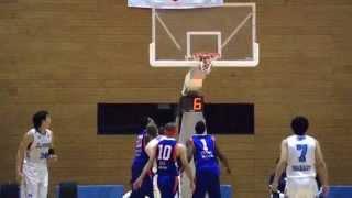 つくばロボッツvs三菱電機名古屋 バスケットボール 2015.3.1vol.12 五十...