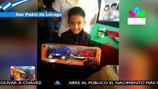 Gobierno Sandinista envía juguetes a niñas y niños de todo el país
