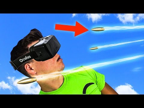 DODGE BULLETS IN VIRTUAL REALITY!