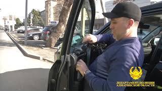 В Талдыкоргане полицейские растонировали 182 автомашины