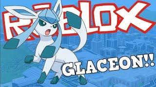 HOW TO EVOLVE EEVEE INTO GLACEON!!!   Roblox Pokemon Brick Bronze