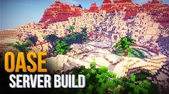 Minecraft Building Stream: OASE bauen + BURG Rundgang | Ethyria Server Deutsch HD