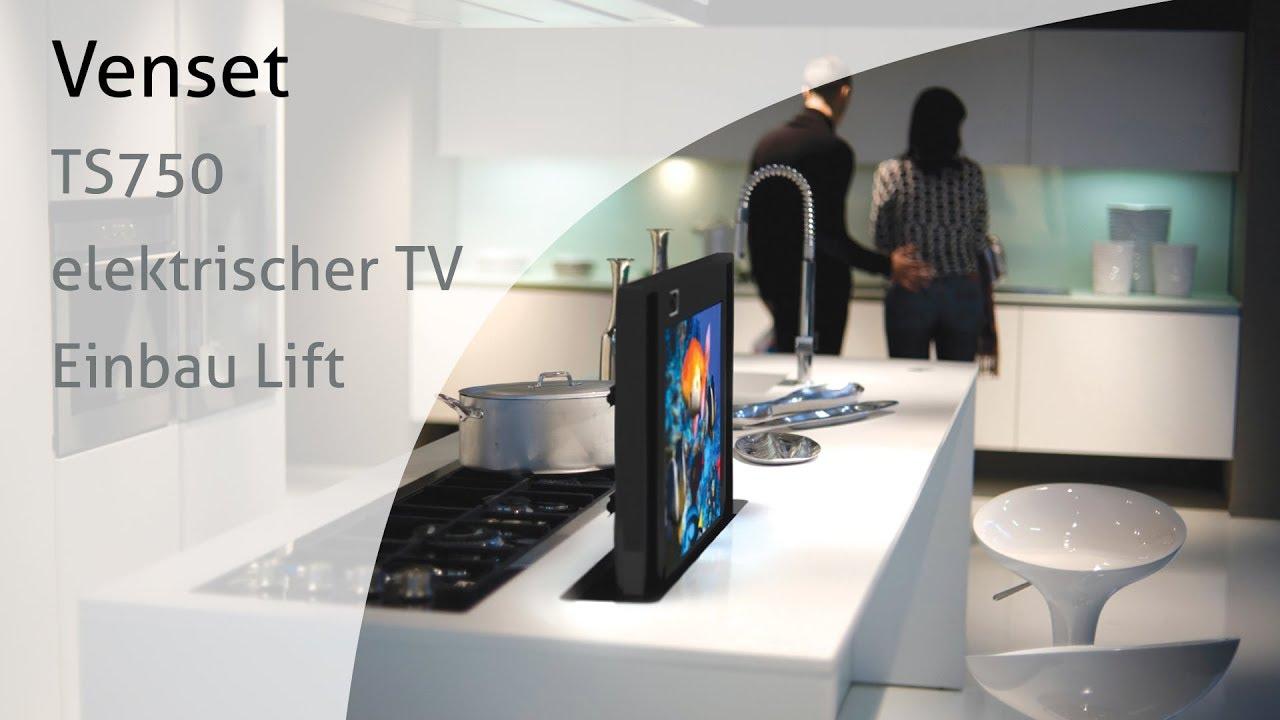 Venset TS750 elektrischer TV Einbau Lift - Fernsehlift für Möbel ...