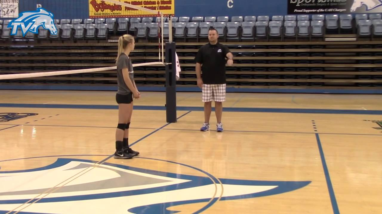 Volleyball 101 Part 1 Illegal Back Row Attack Youtube