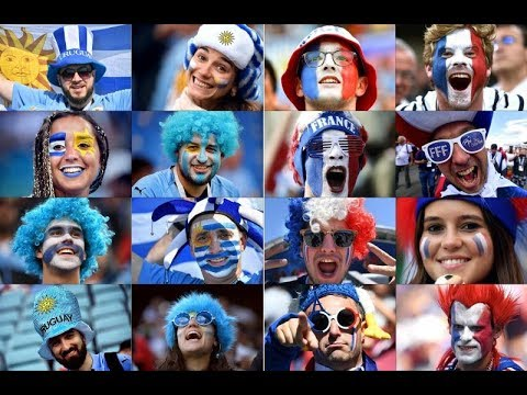 France V Uruguay: Fans In Russia Gather For World Cup Quarter-finals - Live!