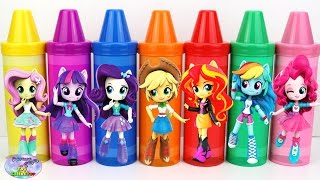 Best Learning Colors Video For Children My Little Pony Crayons Surprise Egg and Toy Collector SETC