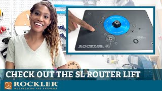 Rockler SL Router Lift Review