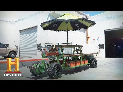 Counting Cars: Motorized Picnic Table (Season 7, Episode 8) | History
