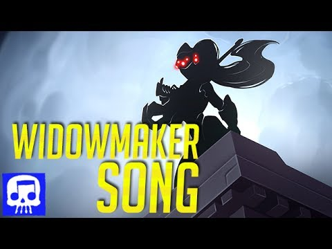 Widowmaker Song LYRIC VIDEO by JT Music (Overwatch Song)