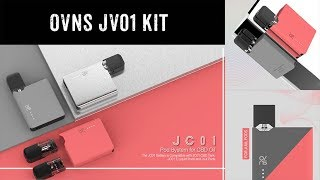 Best Pos System for CBD Oil and Support JUUL Pods– Ovns JC01 Kit 丨Vaporl