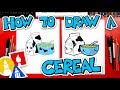 How To Draw A Funny Bowl Of Cereal + CHALLENGE TIME