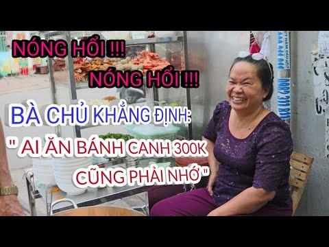 """Bà chủ khắng định """"ai ăn bánh canh cua 300k đều phải nhớ""""- Sài Gòn ẩm thực"""