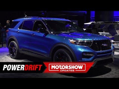 2020 Ford Explorer ST : Not your average SUV : 2019 Detroit Auto Show : PowerDrift