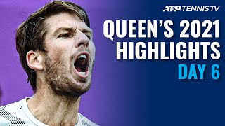Shapovalov/Tiafoe vs Norrie; Berrettini vs De Minaur | Queen's 2021 Day 6 Highlights
