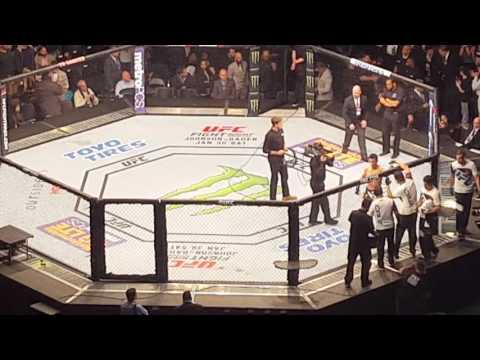 UFC Dillashaw Vs Cruz promo and entrance.