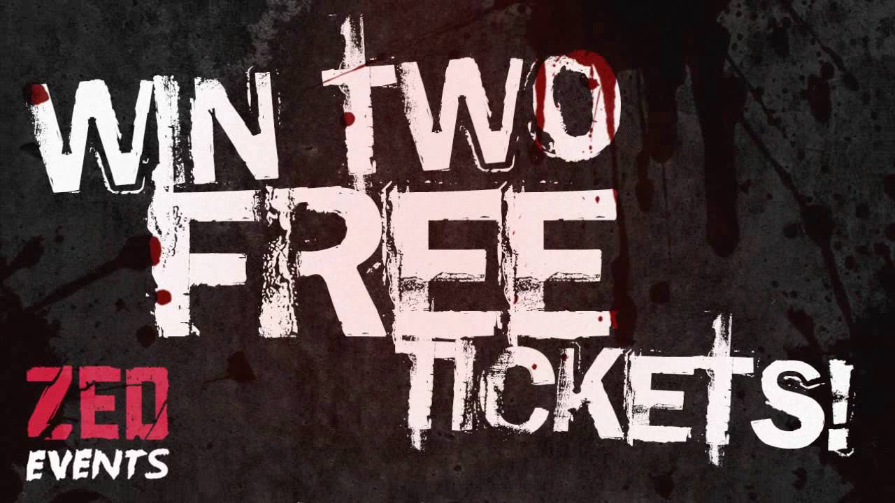 zed events competition win two free event tickets youtube