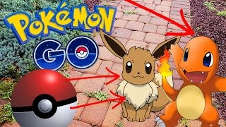 POKEMON GO LETS PLAY! Episode 1 - POKEMON IN REAL LIFE! GYM BATTLES, TEAMS, POKESTOP, POKECOINS!