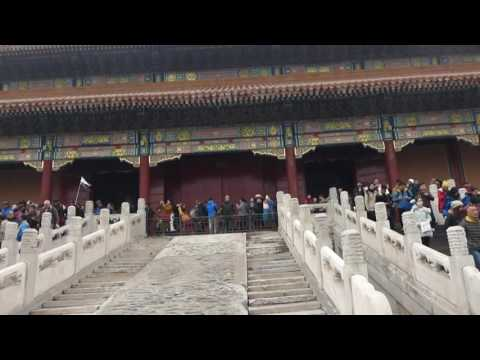 48 - Beijing: Outer court of the Forbidden City