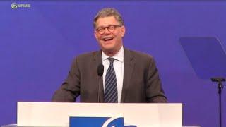 Sen Al Franken Jokes About His Childhood Teachers - Full Speech
