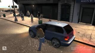 GTA 4 Gameplay 1080p test