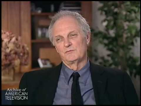 Alan Alda describes working with and being influenced by actor Burgess Meredith with Naked City
