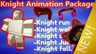 Forfait d'animation Roblox KNIGHT - NOUVELLE Animation (fr) VITRINE (EN ANGLAIS) HATS gratuit dans le catalogue