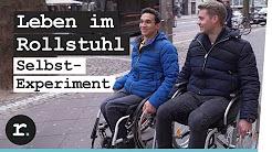 So ist das Leben im Rollstuhl - Selbstexperiment